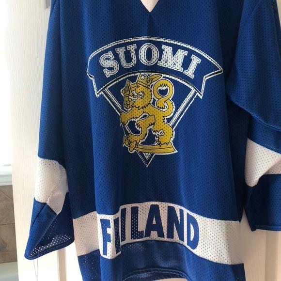 watch ca6d3 917bf Teamu selanne Finland jersey